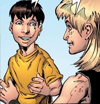 Young Peter Parker and Eddie Brock 1610