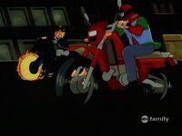 Ghost Rider Passes Rick
