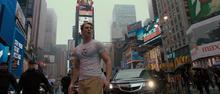 Роджерс на улицах Нью-Йорка в 21 веке - Первый мститель