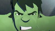 Hulk en Iron man aventuras de hierro