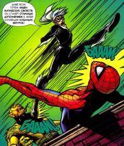 Marvel Adventures- Spider-Man 1 42 Black Cat atacks Spider-Man and Puma