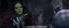 Гамора хочет спасти Небулу - Стражи галактики