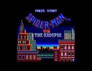 The Amazing Spider-Man vs. The Kingpin (Sega Game Gear - intro screen)