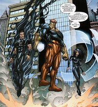 UFF 52 Thanos with his new servants - Invisible Woman and Human Torch