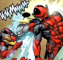 Wade Wilson (Earth-616) vs. Evil Deadpool (Earth-616)