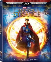 Doctor Strange (2016) Blu-Ray Cover