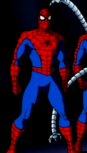 Spider-Man (Actor) (Earth-38119) from Spider-Man The Animated Series Season 5 12 0001