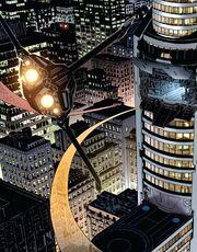 Torre Stark (Columbus Circle, Reconstruída) de Os Vingadores Vol 5 8 001