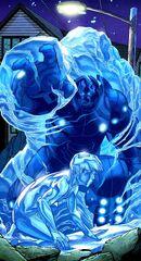 Человек-Лед против пришельца