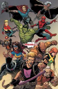 Secret Empire 10 Avengerse Assemble