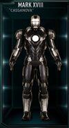 Armure d'Iron Man MK XVIII (Terre-199999)