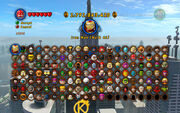 LEGO Marvel All Characters