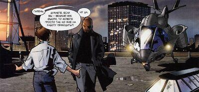 USM 124 Peter Parker and Nick Fury