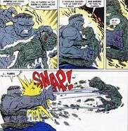 Media Vida (Tony Masterson) vs Hulk (Robert Bruce Banner)