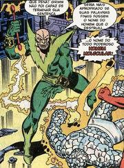 Molecule Man possessing a boxer in Fantastic Four Vol 1 187