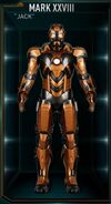 Armure d'Iron Man MK XXVIII (Terre-199999)