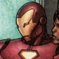 Железный человек (616) портрет; Гражданская война