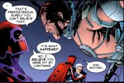 Web of Spider-Man V2 Issue 2 Magneto Talks to Electro