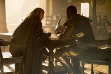 Thor and Heimdall