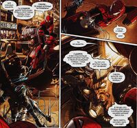 Edge of Spider-Verse 3 Spider-Man and Daarroh