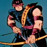 Ojo de Halcon en Marvel Super Heroes 1966