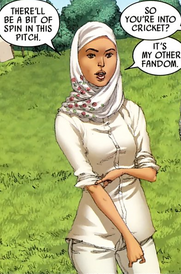 Faiza Hussain (Earth-616) Captain Britain and MI-13 Annual Vol 1 1