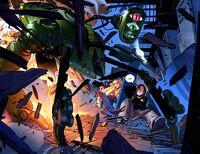 UCSM 6 Mysterio's robot is atacking Midtown High School