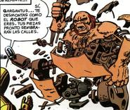 Gargantus (Robot Alienigena) (Tierra-616) Destruido