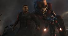 Беннер во время начала битвы с Таносом - Финал