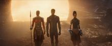 Окойе, Т Чалла, Шури присоединяются к битве за Землю - Мстители Финал