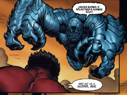 A-Bomb Atacando A Red Hulk