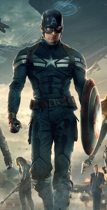 Steven Rogers (Earth-199999) from Captain America The Winter Soldier poster 001