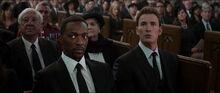 Уилсон и Роджерс на похоронах Пегги Картер - Противостояние