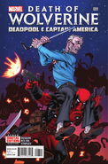 Death of Wolverine Deadpool & Captain America Vol 1 1