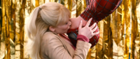 Gwen Stacy is kissing Spider-Man Earth-96283