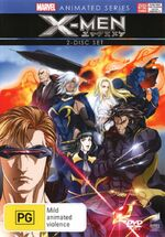 Marvel Anime X Men Australian DVD