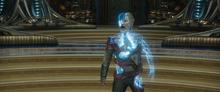 Эго после атаки Квилла - Стражи галактики 2