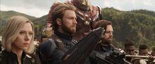 Мстители готовятся к атаке Всадников - Война бесконечности
