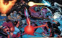 Avengers vs. X-Men 5 Moon battle