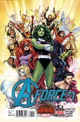 A-Force Vol 1 1