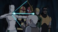 Eitri is giving weapon for S.H.I.E.L.D