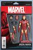 Invincible Iron Man Vol 2 1 Variante de Figura de acción