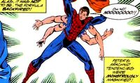 What If? v2 42 Peter Parker's transformation