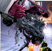 Spider-Man vs Green Goblin Peter is crashing the truck on enemy's head 1610