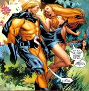 180px-Robert Reynolds & Venus (Siren) (Earth-616)