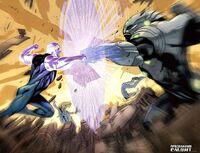 Ultimate Ben Grimm vs Captain Marvel UM 3