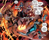 Ultimates meet new Spider-Man Cataclysm Earth-1610