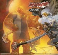 UFF 37 Thanos (Ben Grimm) vs Johnny Storm