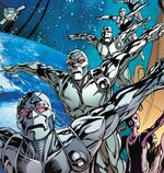 Ultron Sentinels from Uncanny Avengers Ultron Forever Vol 1 1 001