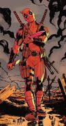 Wade Wilson (Earth-616) from X-Men Battle of the Atom Vol 1 1 cover